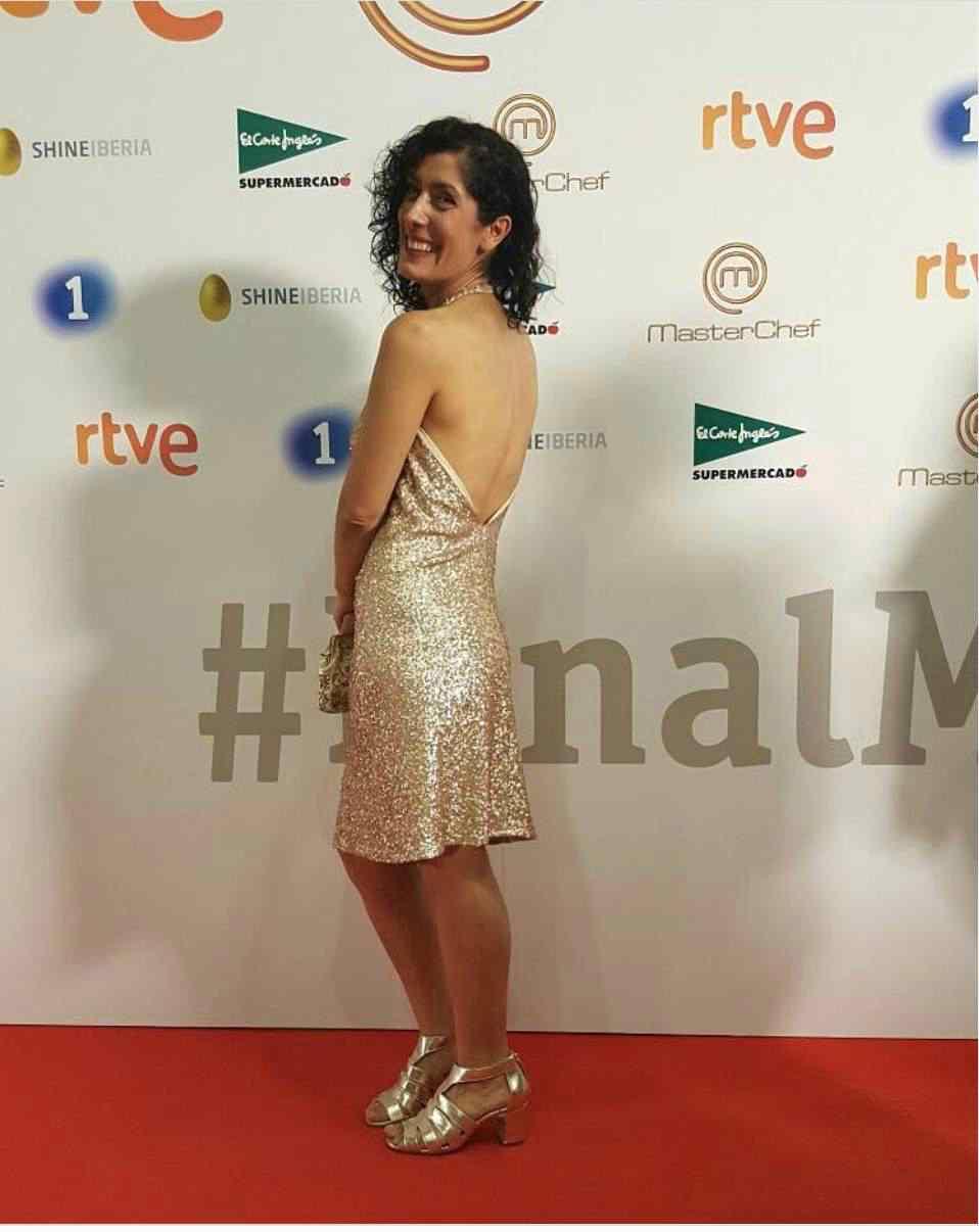 Sandra Marchena in abito da sera - Altranotizia