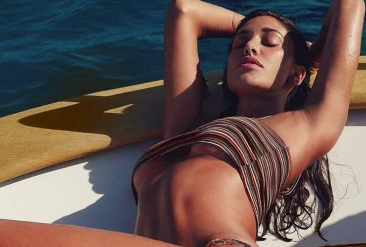 Belen Rodriguez imbianchina bollente - AltraNotizia