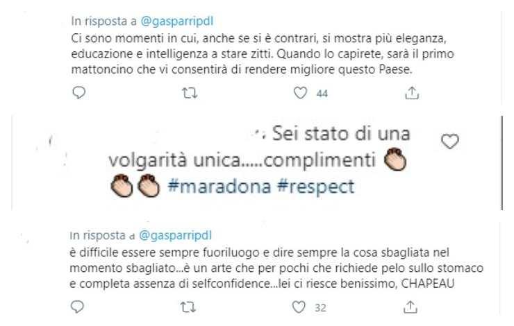Commenti Gasparri
