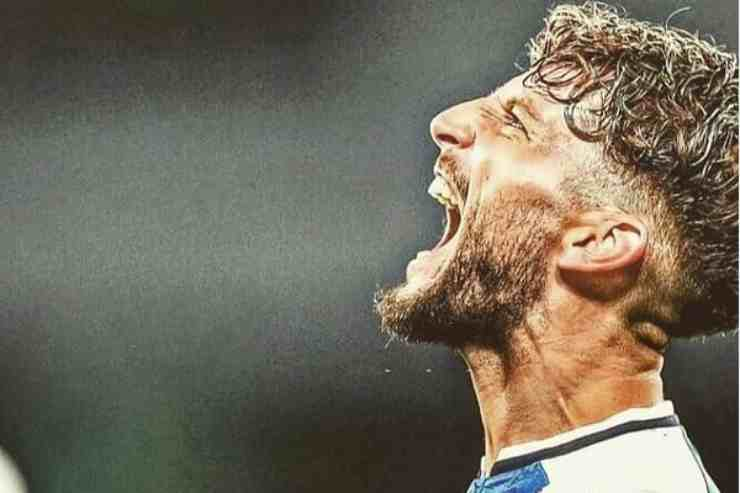 L'emozionante gesto di Mertens per Maradona