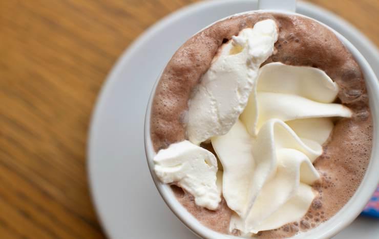 cioccolata calda trucchetto