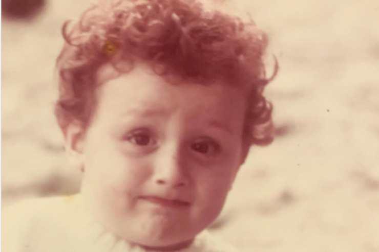 Rudi Zerbi da bambino