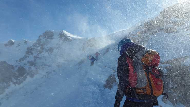si può andare in montagna?