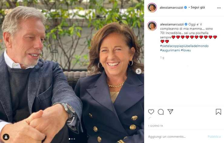Alessia MArcuzzi genitori