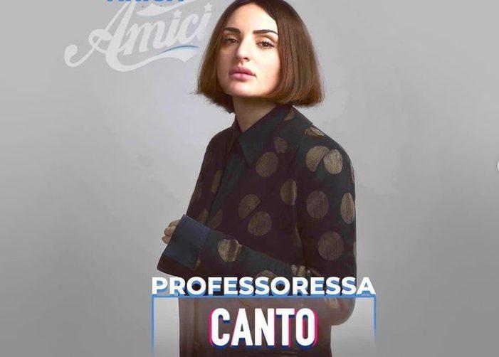 Arisa ad Amici (Instagram @arisamusic)