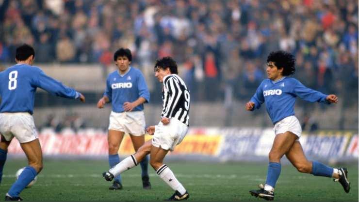 Paolo Rossi e Diego Armando Maradona