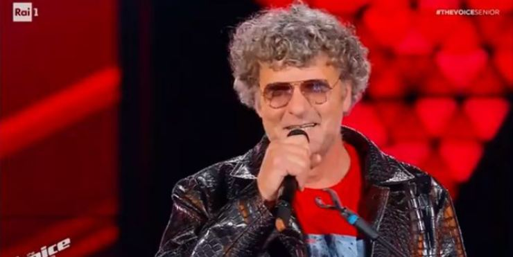 Pietrosauro a The Voice Senior