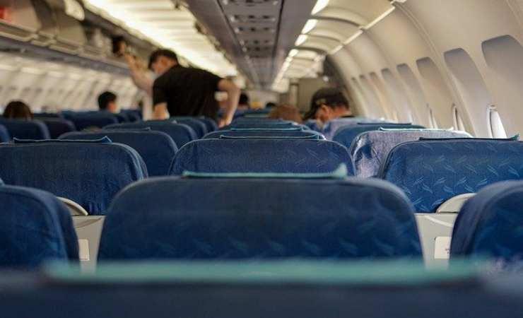 Forellino finestrini aeroplano