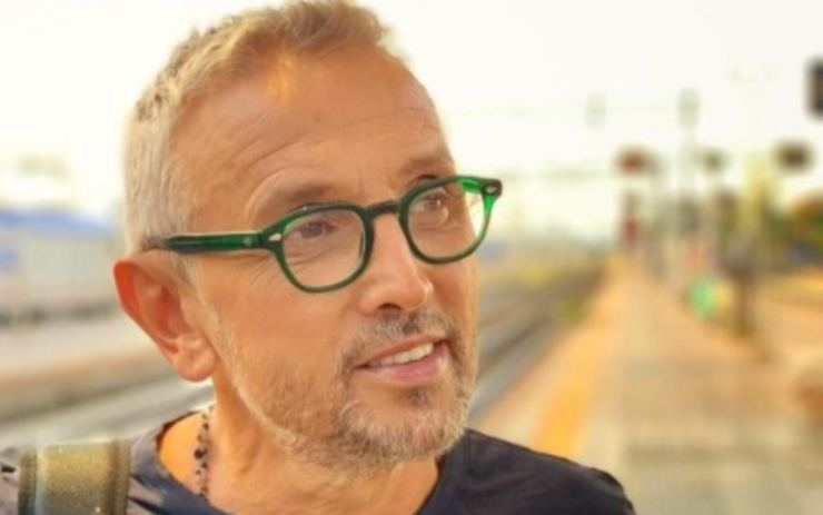 Bruno Barbieri irriconoscibile