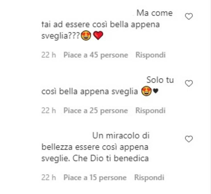 Elisa Isoardi commenti