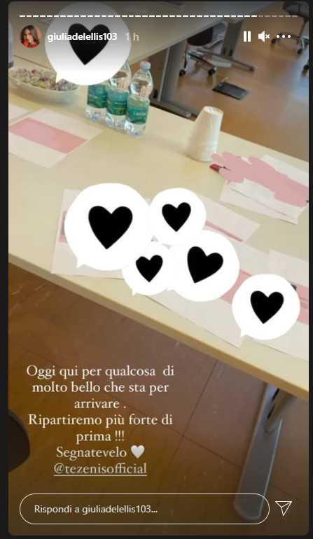 Giulia De Lellis annuncio