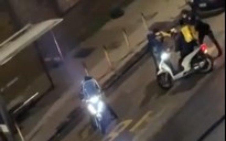Rider picchiato arresti