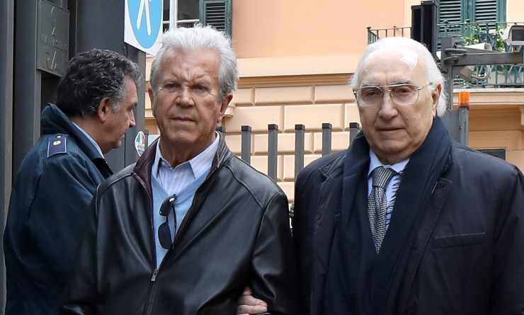 Gaetano Castelli e Pippo Baudo