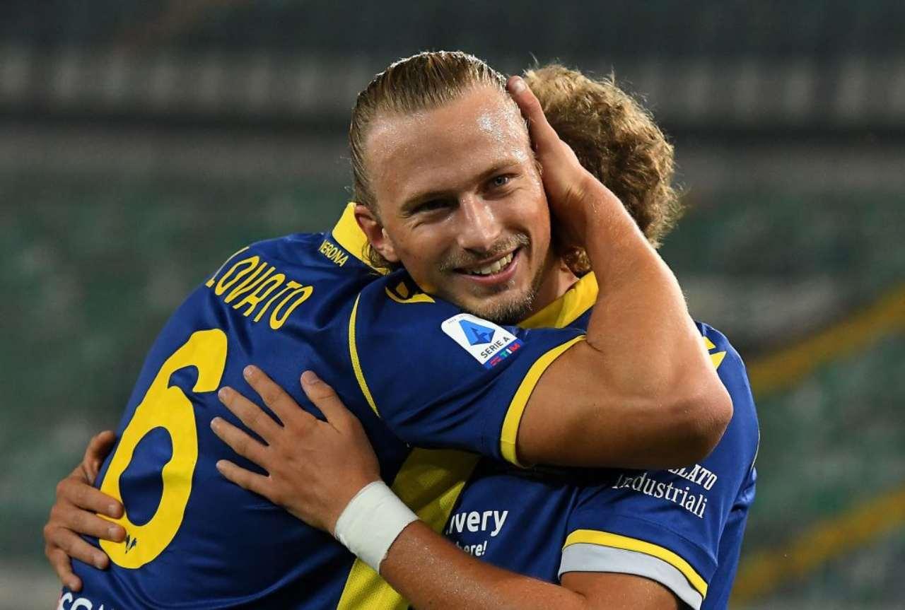 Serie A, gol più bello della giornata: stacco alla Cr7 di un centrocampista (Video)