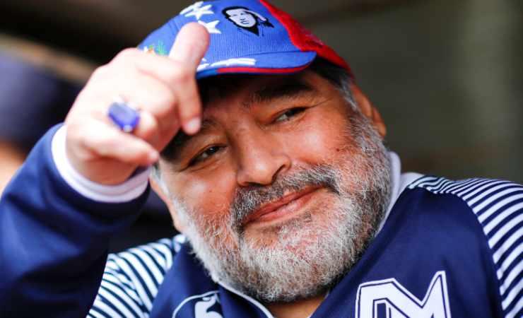 Maradona morte