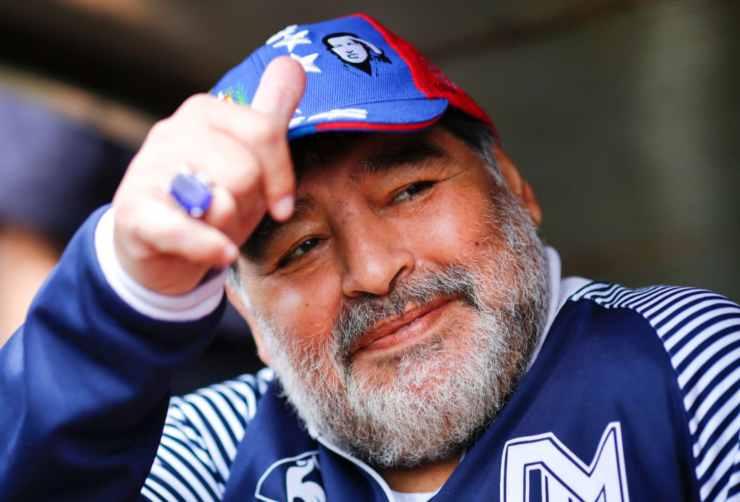 ultimo video Maradona