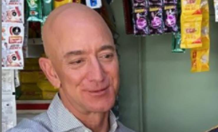Addio Amazon Jeff Bezos