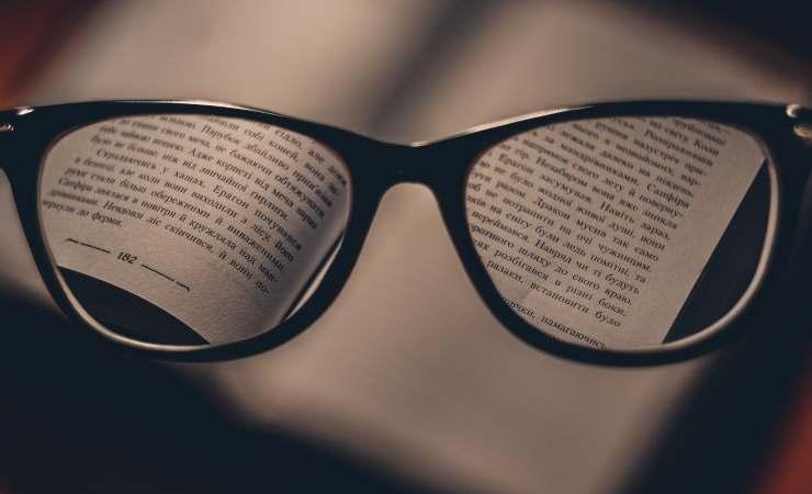segreto pulire occhiali