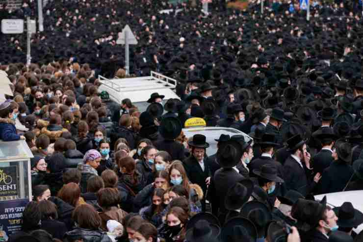 Gerusalemme funerali rabino