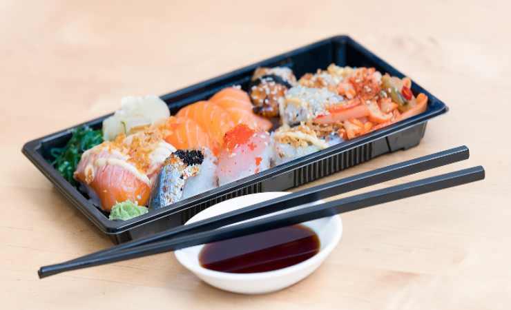 intossicazione alimentare sushi
