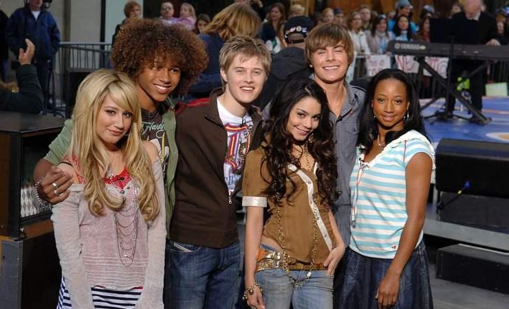 il cast di High School Musical