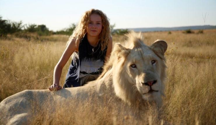 Mia e il leone bianco, storia vera