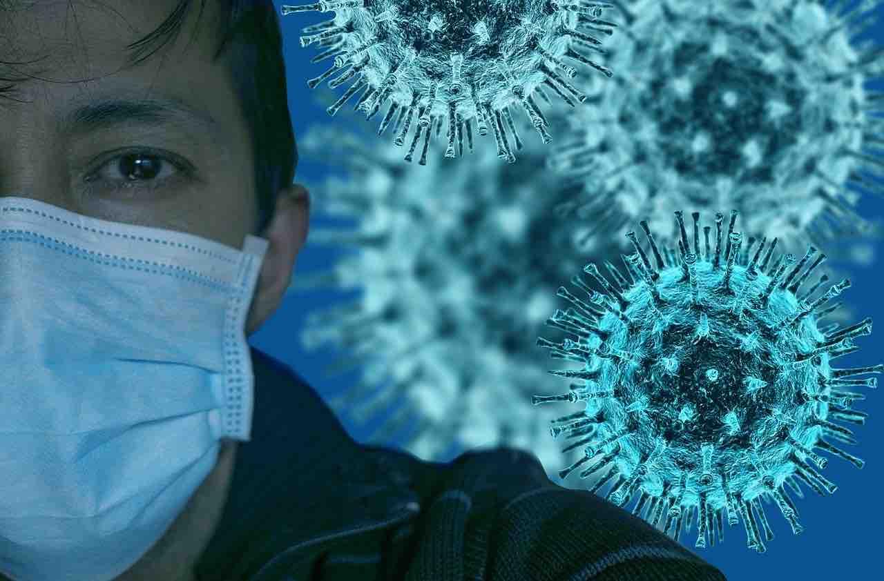 Coronavirus zona arancione scuro