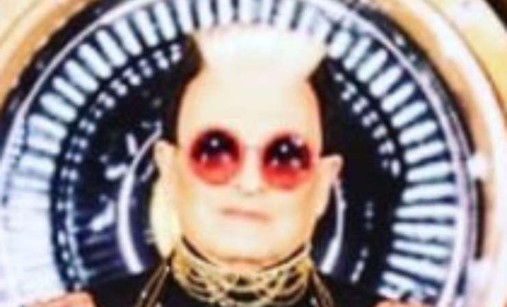 Cristiano Malgioglio occhiali da sole