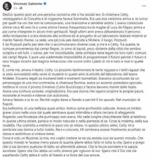 Vincenzo Salemm post