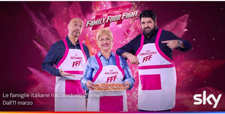 Family Food Fight, Joe Bastianich