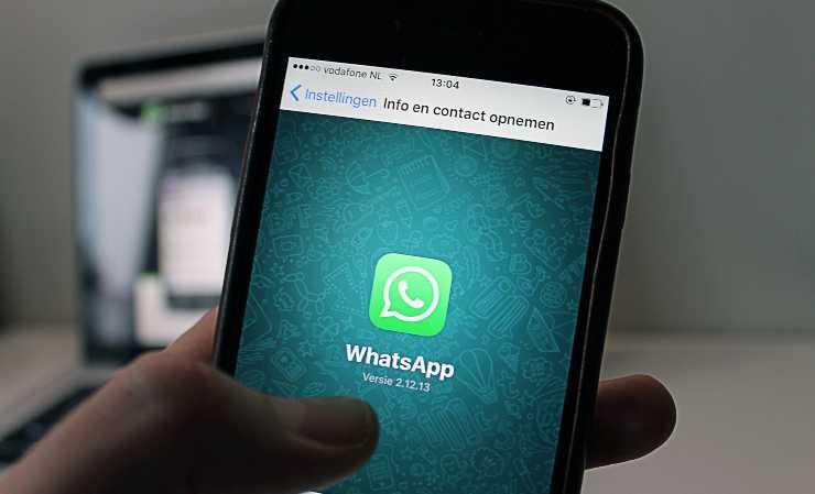 whatsapp novità messaggio