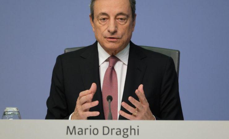 Mario Draghi zona gialla