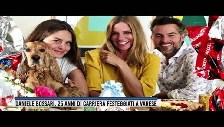 Daniele Bossari con la famiglia - AltraNotizia