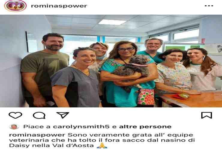 Romina Power messaggio commovente sui social AltraNotizia