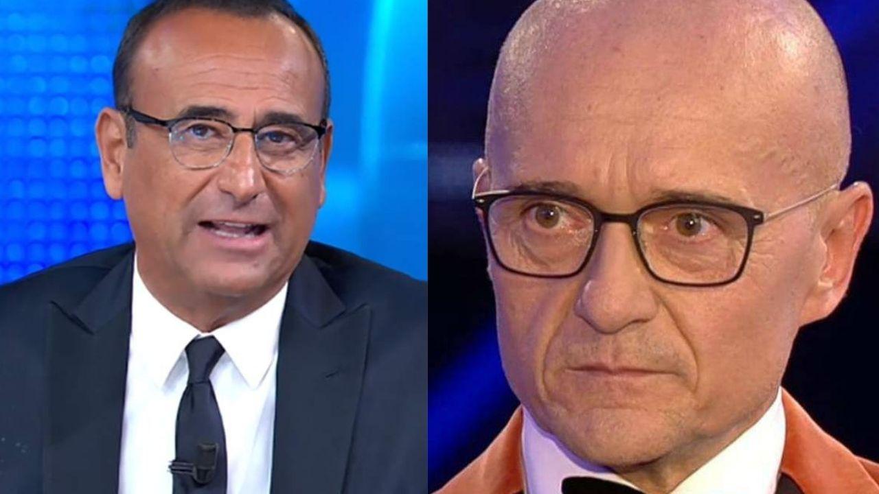 Carlo Conti asfalta signorini Altranotizia