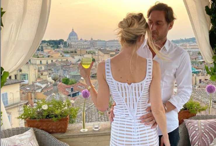 Francesco Totti e Ilary Blasi Anniversario