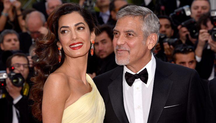 George Clooney e Amal Alamuddin insieme