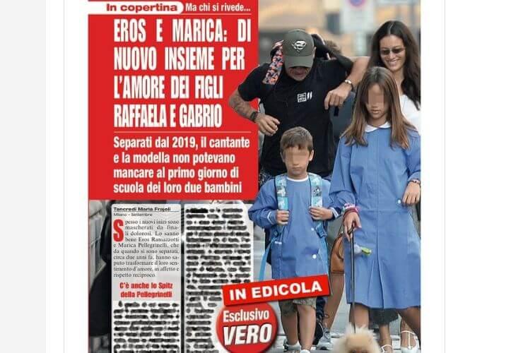 Eros-Ramazzotti-e-Marica-Pellegrinelli-a-scuola-con-i-figli-Altranotizia (1)
